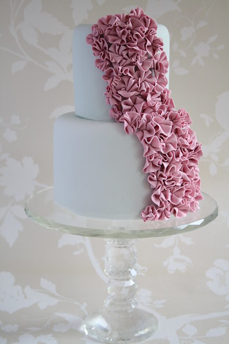 Ruffles cake | by Cotton and Crumbs