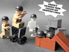 G.I. Brick Catalog Shot: M1 Pot Helmet by TrooperGuy