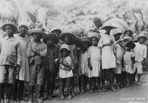 Douglas Cornhill - Native Children, Martinique | by The Caribbean Photo Archive