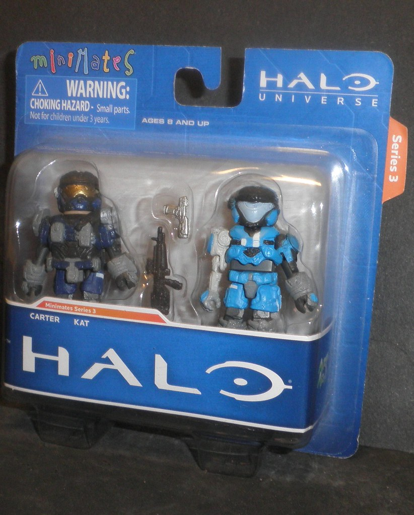 Halo Minimates Carter Halo Minimates s3 Carter