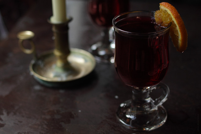 Mulled wine with a good company