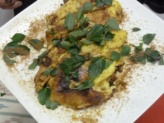 huevos al curasao - cocina afrodisíaca