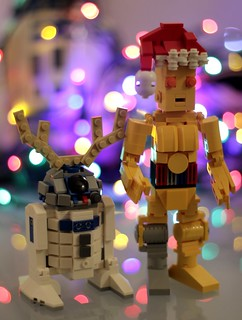 Artoo-Deertoo and Santa-Pio | by SPARKART!