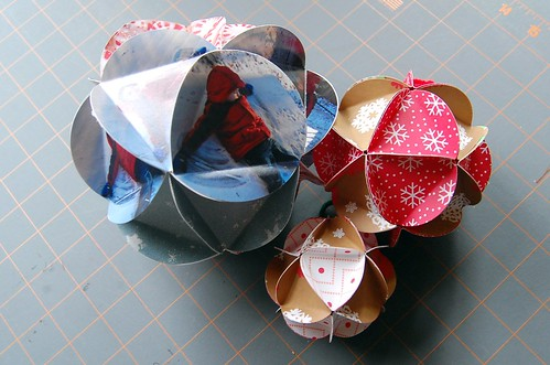 paper ball ornament | by Maker Mama