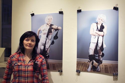 Aldís Ellerstdóttir Hoff på Galleri Kronan