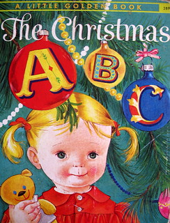 The Christmas ABC - a vintage little golden book | by lottielulu