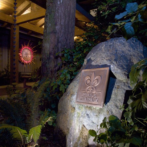 The Pointe Restaurant at The Wickaninnish Inn | R&C Plaque Outside Pointe - Shawn Robinson | by scout.magazine