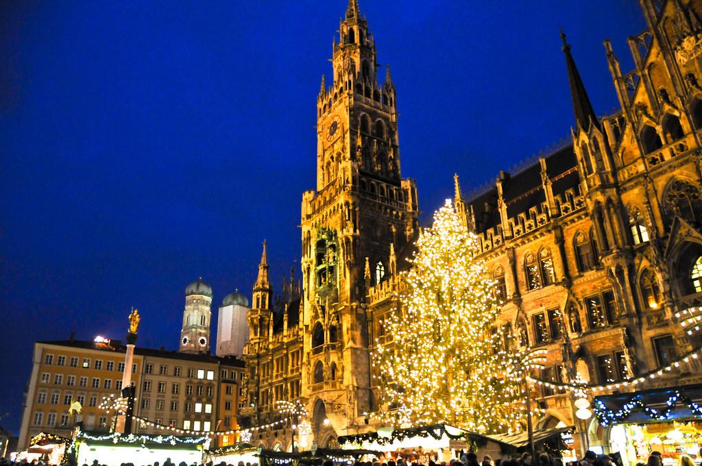 Коледен базар в Мюнхен, Германия