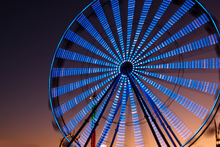Wheel at Sunset | by Jonathan F Miller