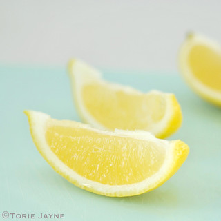 Sliced lemons | by toriejayne