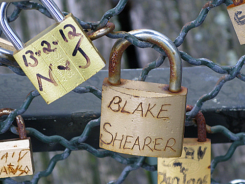 blake shearer - Pont des Arts, Paris | by David Lebovitz