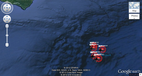 Map JP Cluster Quakes | by lesOfieldstream