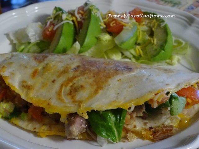 Pork Quesadillas | From My Carolina Home