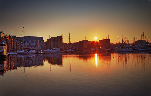 Ipswich Waterfront Sunrise