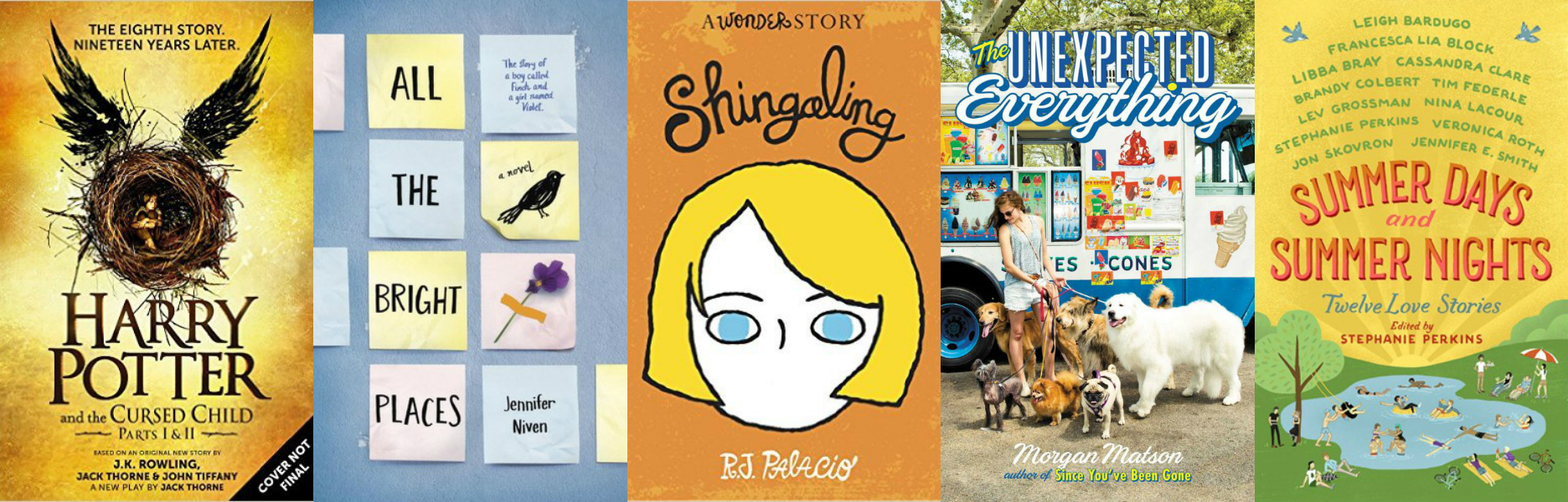 Summery Young Adult & Children's Literature