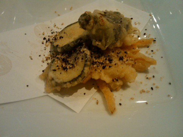 """Tempura con """"Ghomashio"""" - Cocina Japonesa con Maridaje Mediterráneo - Bodegón de Carlos - Vila-real"""