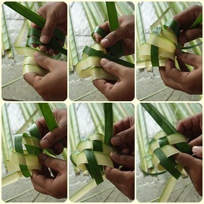 Tips Lebaran: Cara Cepat dan Mudah Membuat Anyaman Ketupat