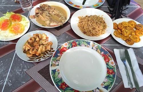 Lunch @ Las Galeras Beach