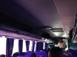 Inside Caribe Tours Bus