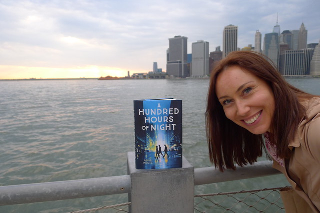 Author Anna Woltz visits NYC