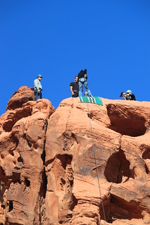 Valley of Fire Rappelling | by Awesome Adventures