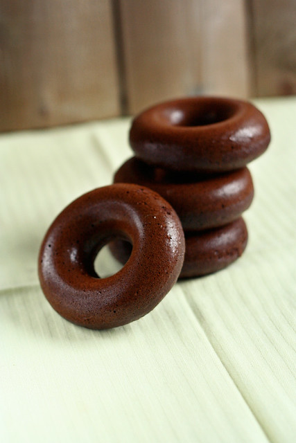 Gluten-Free + Diary-Free Chocolate Donuts