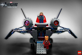 6869 Quinjet Aerial Battle 2 | by fbtb