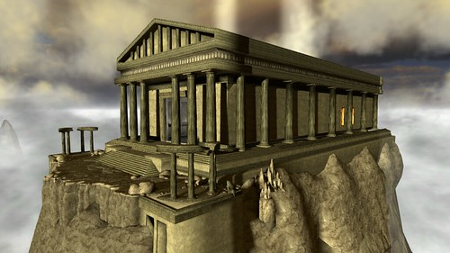 PS Home: Personal Spaces - Mount Olympus | by PlayStation.Blog