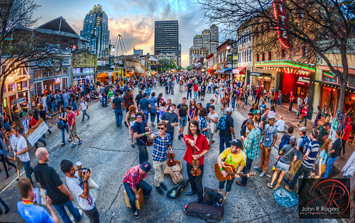 Street Bands Entertaining at 2012 SXSW; Austin Texas | by Visualist Images