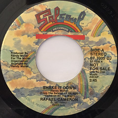 RAFAEL CAMERON:SHAKE IT DOWN(LABEL SIDE-A)