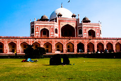 Humayun's Tomb by hash trivial