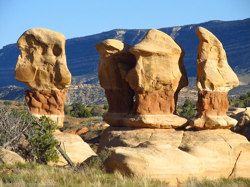Some of the more fantastic rock formations in Devil's Garden, Grand Staircase-Escalante National Monument, Utah