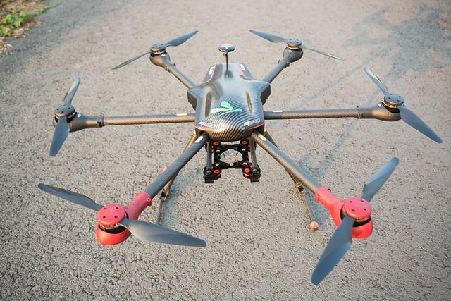 Flycam Hexa 690 Align tại Tp HCM