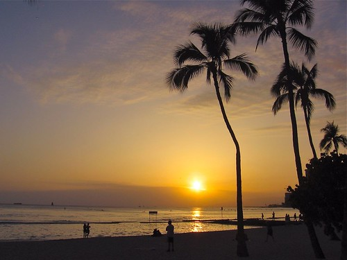 Today's Waikiki Sunset