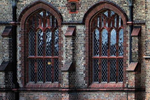 Ordsall Hall window detail