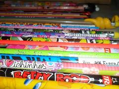 Minha coleção de lápis by Cacau Monteiro