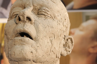 The rough clay model of the severed head prop used in Salome © David Kaplowitz/ROH 2012 | by Royal Opera House Covent Garden
