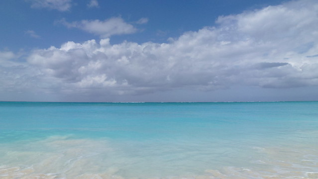 Grace Bay Leeward Beach Turks and Caicos Island