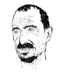 Pepe. Adobe Illustrator. 2012. by Drew Ferrie