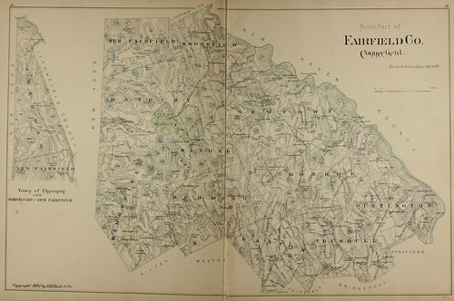 Page 138 & 139 of Town and city atlas of the State of Connecticut. / Compiled from government surveys, county records and personal investigations | by uconnlibrariesmagic