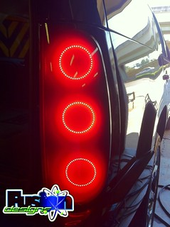 Mark Ingram Fusion Design Taillights | by fusion design lighting