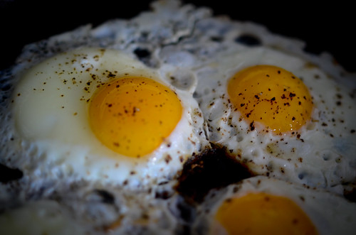 13th Febuary - Fried Eggs | by The Hungry Cyclist