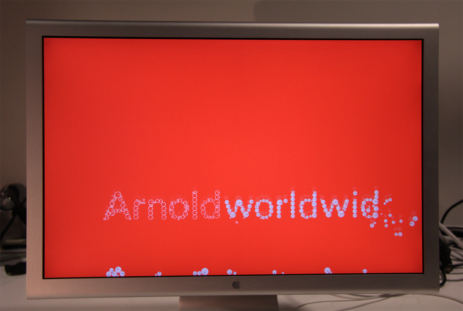 Arnold Logo Screen Saver