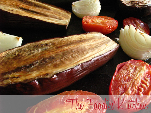 Roasted Eggplant Soup | by The Foodies' Kitchen