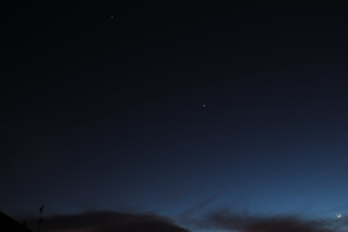 Jupiter Venus Meteor and Moon and Earthshine23rd feb 2012 | by James Dyson