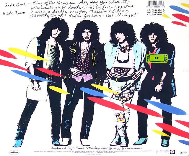 """Kiss - Asylum West-Germany 12"""" VINYL LP"""