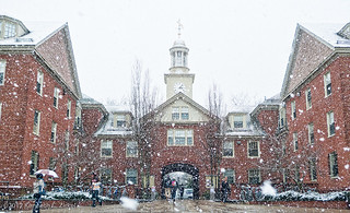 Snowy campus | by Ken Zirkel