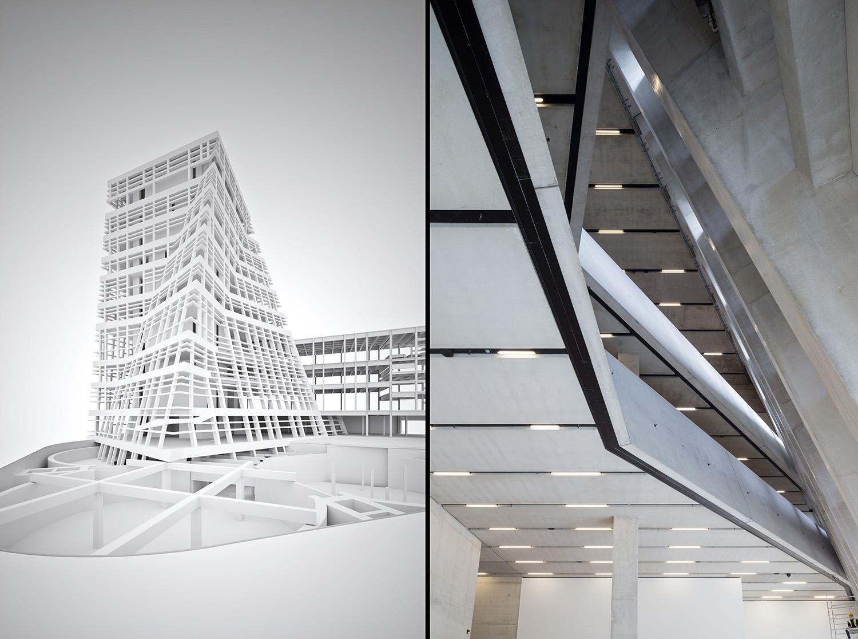 M i l i m e t d e s i g n for Tate modern building design