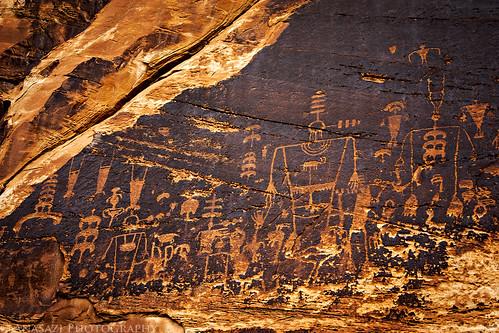 Butler Wash Petroglyphs