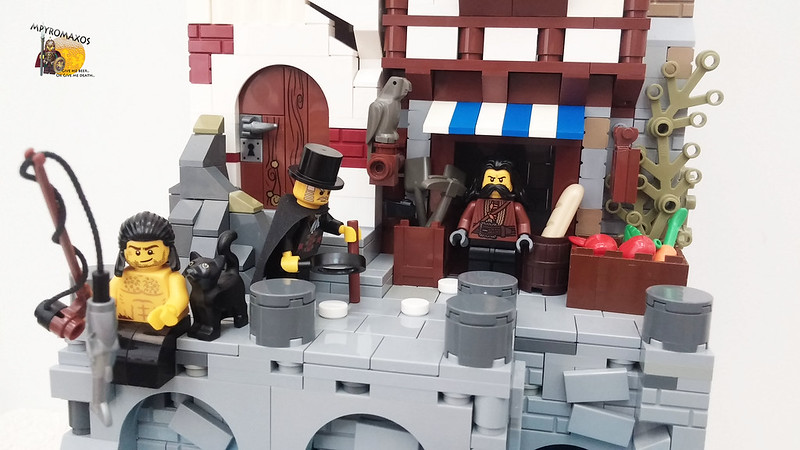 [Brethren of the Brick Seas]: The silver parrot and the secret beneath the lighthouse.. 27724038931_e99a82f05a_c